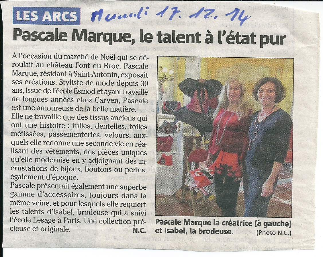Article Var Matin - 17/12/2014